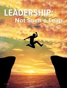 Cover of leadership article